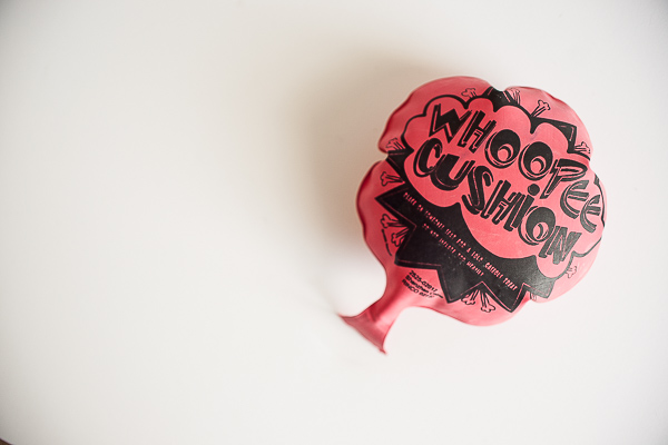 Free Stock Photos for Blogs - Whoopee Cushion 1