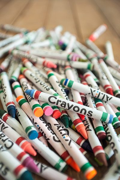 Free Stock Photos for Blogs - Pile of Crayons 3
