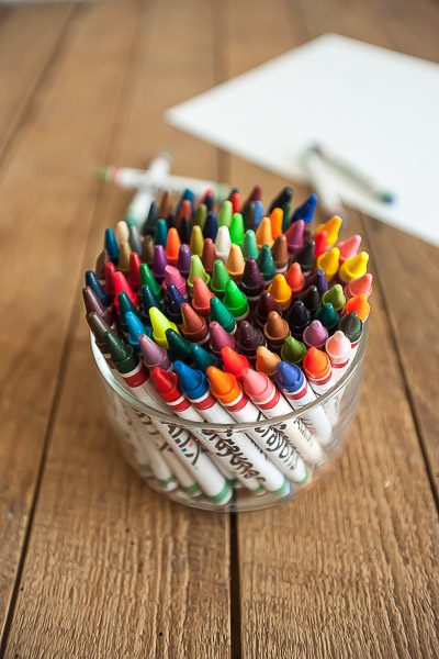 Free Stock Photos for Blogs - Crayons 1
