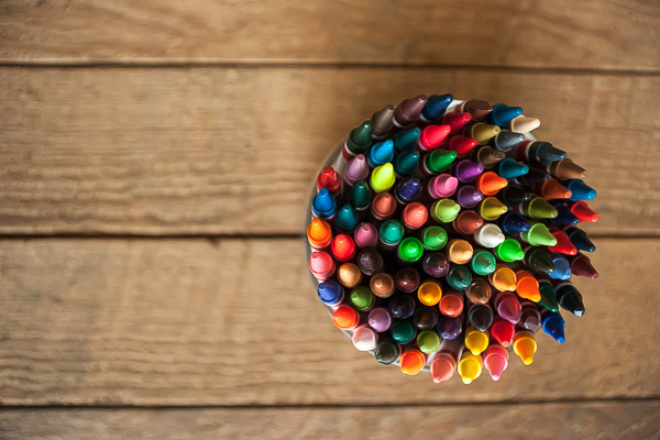Free Stock Photos for Blogs - Crayons 2