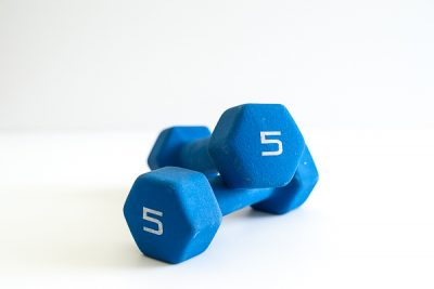Free Stock Photos for Blogs - Exercise Dumbbells 1