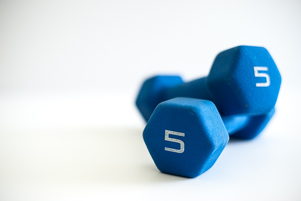 Free Stock Photos for Blogs -  Exercise Dumbbells 2