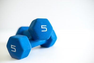 Free Stock Photos for Blogs - Exercise Dumbbells 3