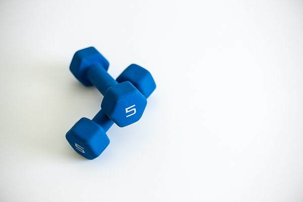 Free Stock Photos for Blogs -  Exercise Dumbbells 4