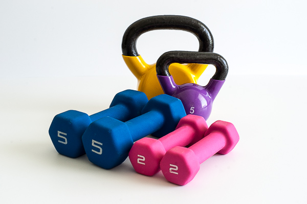 Free Stock Photos for Blogs - Exercise Weights 3