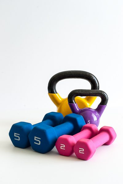 Free Stock Photos for Blogs - Exercise Weights 4