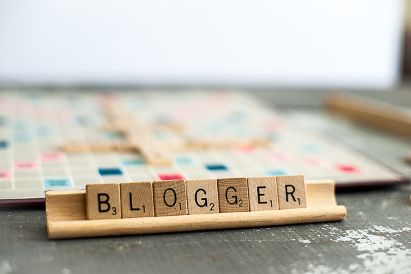 Free Stock Photos for Blogs - Scrabble Tiles Blogger 2