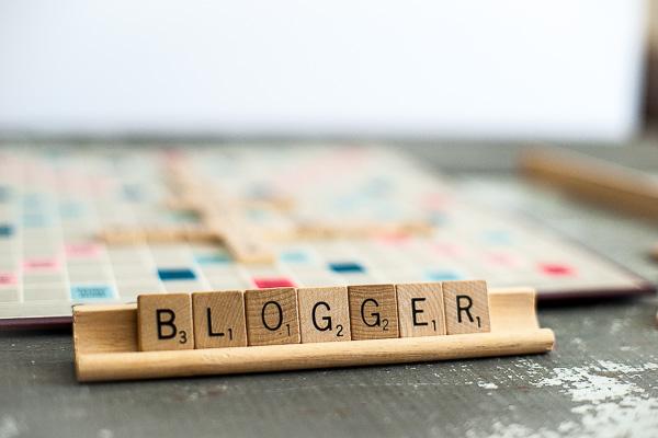Free Stock Photos for Blogs - Scrabble Tiles Blogger 2