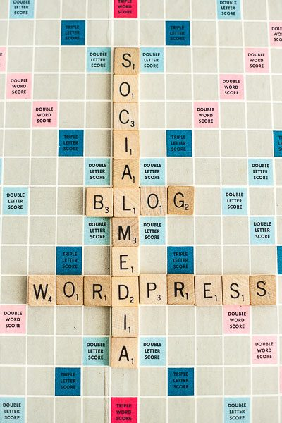 Free Stock Photos for Blogs - Scrabble Tiles Blog 1
