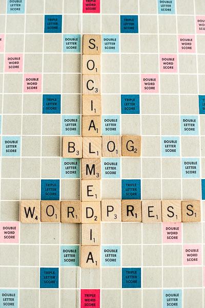Free Stock Photos for Blogs - Scrabble Tiles Blog 1