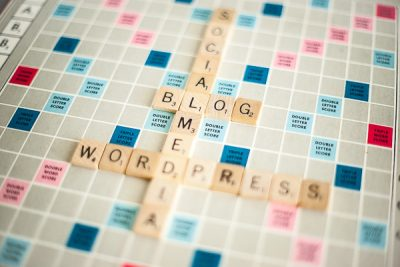 Free Stock Photos for Blogs - Scrabble Tiles Blog 2