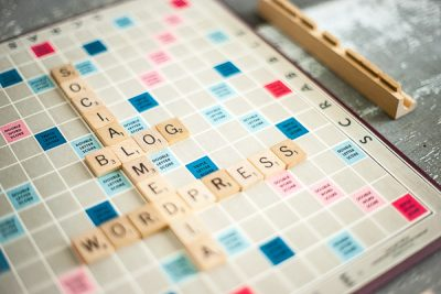 Free Stock Photos for Blogs - Scrabble Tiles Blog 3