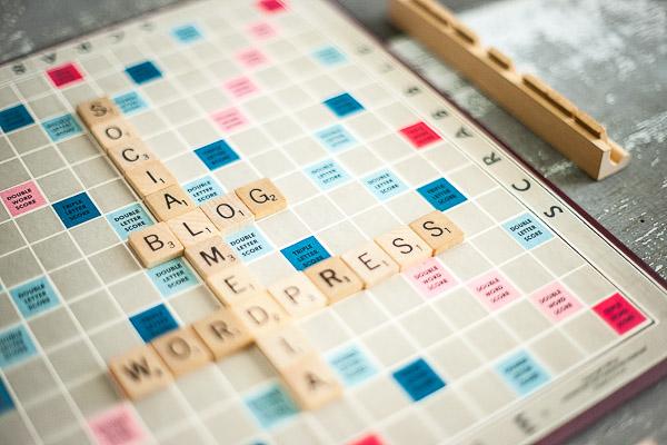 Free Stock Photos for Blogs - Scrabble Tiles Blog 3