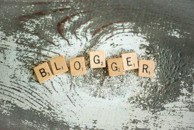 Free Stock Photos for Blogs - Scrabble Tiles Blogger 4