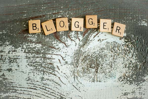 Free Stock Photos for Blogs - Scrabble Tiles Blogger 5