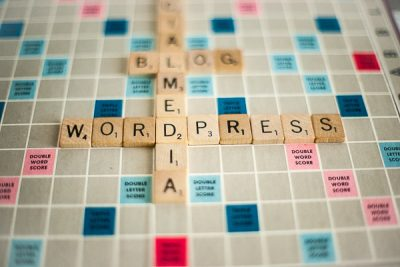 Free Stock Photos for Blogs - Scrabble Tiles Wordpress 1