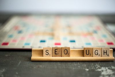 Free Stock Photos for Blogs - Scrabble Tiles SEO 1