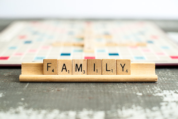 Free Stock Photos for Blogs - Scrabble Tiles Family 1