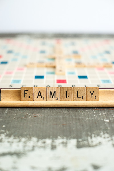 Free Stock Photos for Blogs - Scrabble Tiles Family 2