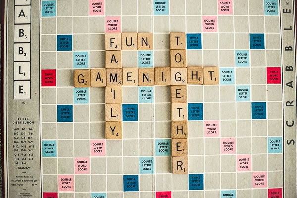 Free Stock Photos for Blogs - Family Game Night 1