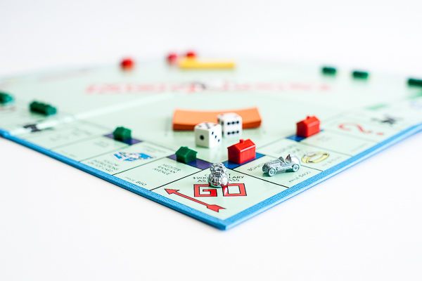 Free Stock Photos for Blogs - Monopoly Game 1