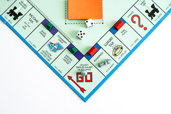 Free Stock Photos for Blogs - Monopoly Game 3