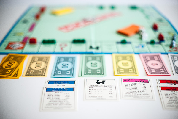 Free Stock Photos for Blogs - Monopoly Game 4