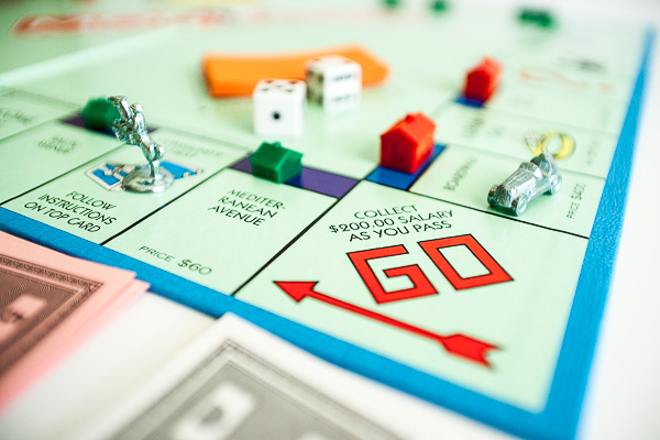 Free Stock Photos for Blogs - Monopoly Game 7