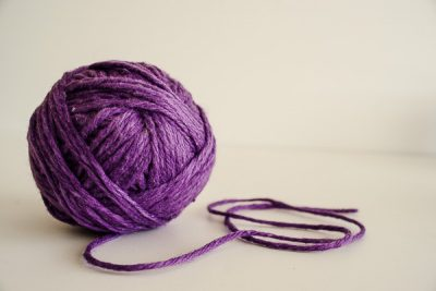 Free Stock Photos for Blogs - Purple Ball of Yarn 3