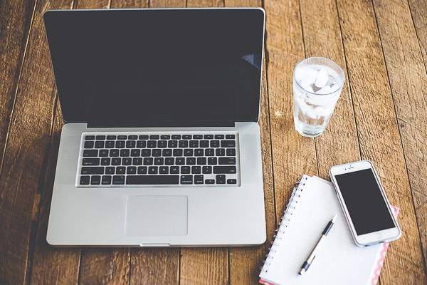 Free Stock Photos for Blogs - Laptop Computer and Iphone 2