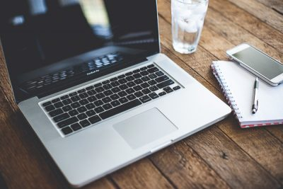 Free Stock Photos for Blogs - Laptop Computer and Iphone 4