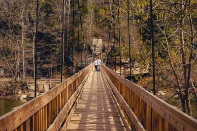 Free Stock Photos for Blogs - Swinging Bridge 1