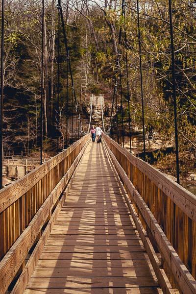 Free Stock Photos for Blogs - Swinging Bridge 2