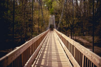 Free Stock Photos for Blogs - Swinging Bridge 3