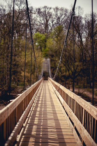 Free Stock Photos for Blogs - Swinging Bridge 4