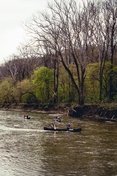 Free Stock Photos for Blogs - Canoeing on the River 1