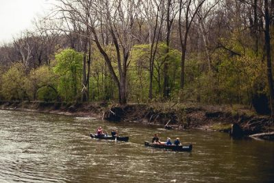 Free Stock Photos for Blogs - Canoeing on the River 2