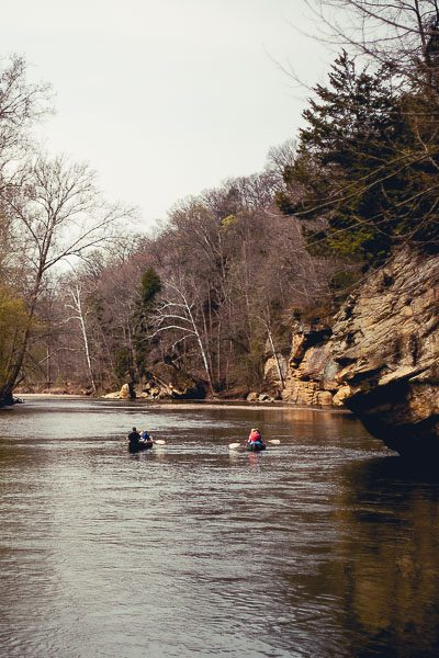 Free Stock Photos for Blogs - Canoeing on the River 3