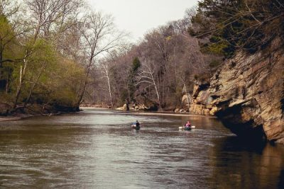 Free Stock Photos for Blogs - Canoeing on the River 4