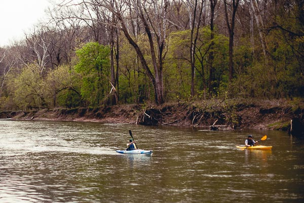 Free Stock Photos for Blogs - Kayaking on the River 1