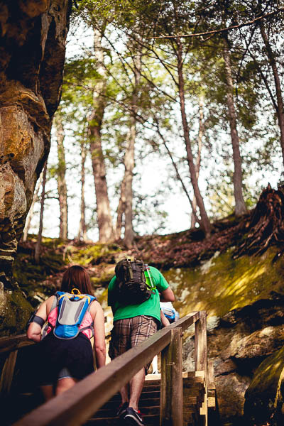 Free Stock Photos for Blogs - Hikers on a Trail 3