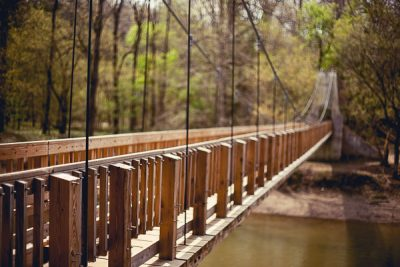 Free Stock Photos for Blogs - Swinging Bridge 6