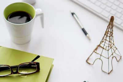 Free Stock Photos for Blogs - Black and Green Office Desk 11