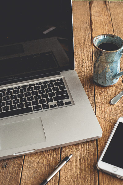 Free Stock Photos for Blogs - Laptop and Coffee 3