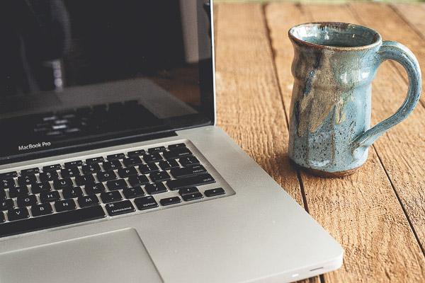 Free Stock Photos for Blogs - Laptop and Coffee 4