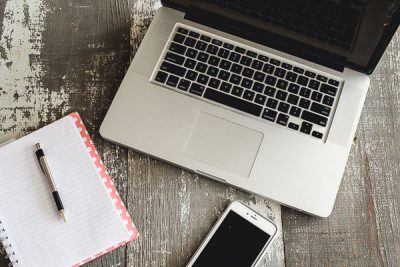 Free Stock Photos for Blogs - Laptop Computer and Iphone 24