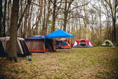 Free Stock Photos for Blogs - Camping Trip Tents 1