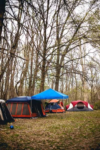 Free Stock Photos for Blogs - Camping Trip Tents 2