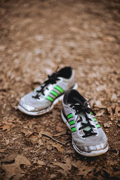 Free Stock Photos for Blogs - Boys Tennis Shoes 2