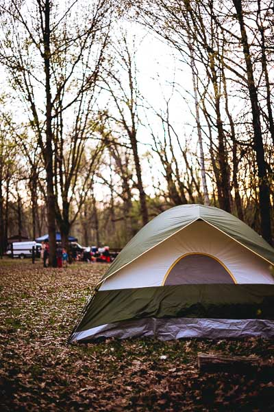 Free Stock Photos for Blogs - Camping Tent 1